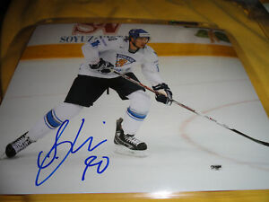 Team-Finland-Sami-Lepisto-Autographed-Signed-8x10-COA-TWO