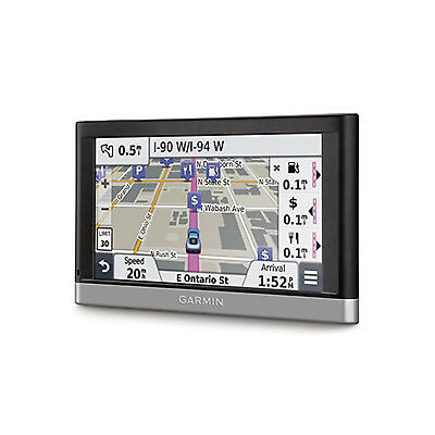 "Garmin Nuvi 2567LM 5"" GPS Sat Nav Bluetooth Lifetime Maps UK & W. Europe Cameras"