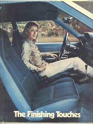 1975 AMC Gremlin Hornet Matador Options Prestige Brochure ww5211