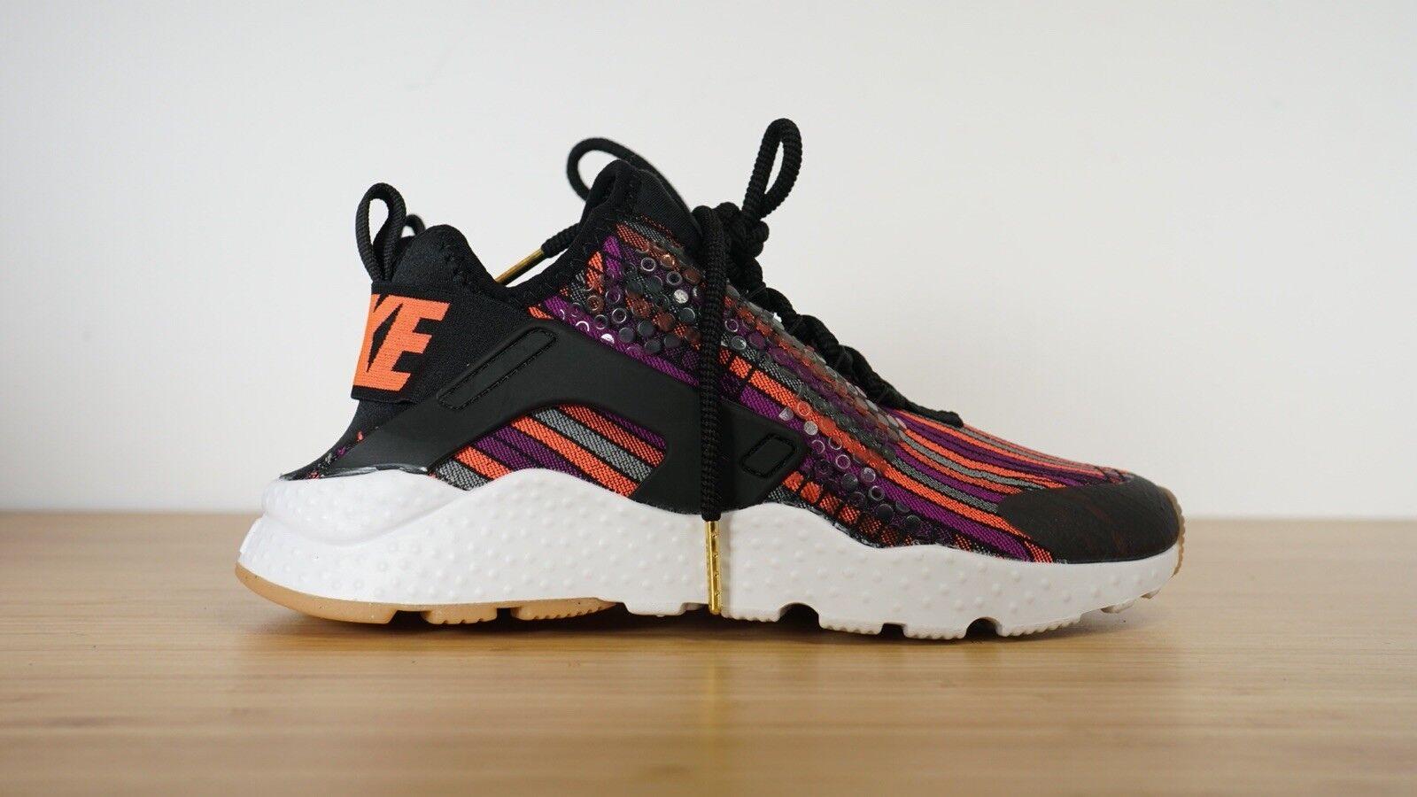 Nike Air Huarache Jacquard Run Black Hot Lava size 6.5 6.5 6.5 885019-001 Multicolor 2e336d