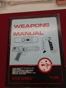 """Star Trek """"Weapons and Field Equipment Technical Reference Manual"""" Star Wars"""