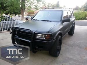 1998 2004 isuzu rodeo brush guard grill guard bumper bar. Black Bedroom Furniture Sets. Home Design Ideas