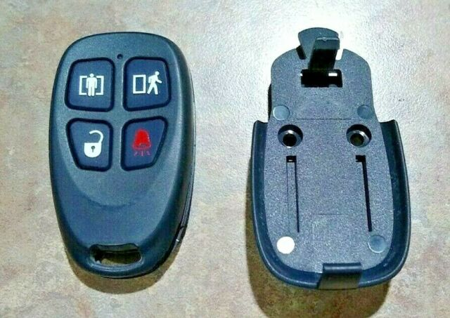 Dsc Ws4939 Alarm Security System Wireless 4 Button Remote Control Key Fob Adt For Sale Online