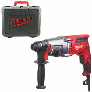 Milwaukee-Ph-26-T-Hammer-Drill-2-4-Joule-Sds-Plus-800-Watt-Suitcase