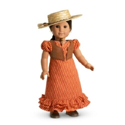 American Girl Josefina SUMMER OUTFIT dress vest hat NO Doll or Boots