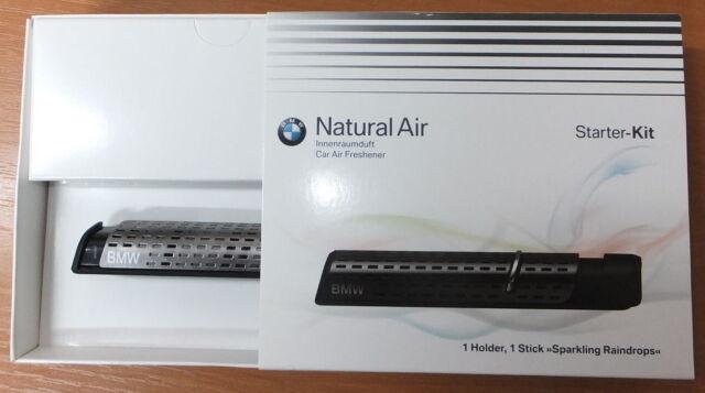 BMW Natural Aire Coche Perfume Kit de Prueba Ambientador Dispensador Aromatic