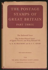 VICTORIA-EDWARD-VII-POSTAGE-STAMPS-OF-GREAT-BRITAIN-PART-3-BEAUMONT-AND-ADAMS