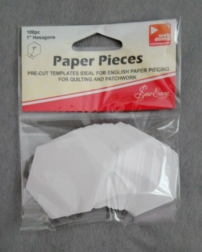 Sew Easy English Paper Piecing Hexagons