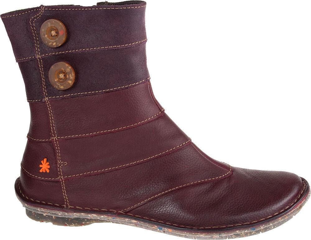 The ART Company Schuhe Granada Purple 857 Damenschuhe Stiefel Stiefelette Leder