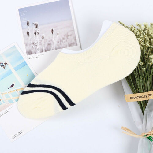 Comfortable Invisible Cotton Boat Socks Girls Women Low Cut Anti-off Ankle Sock