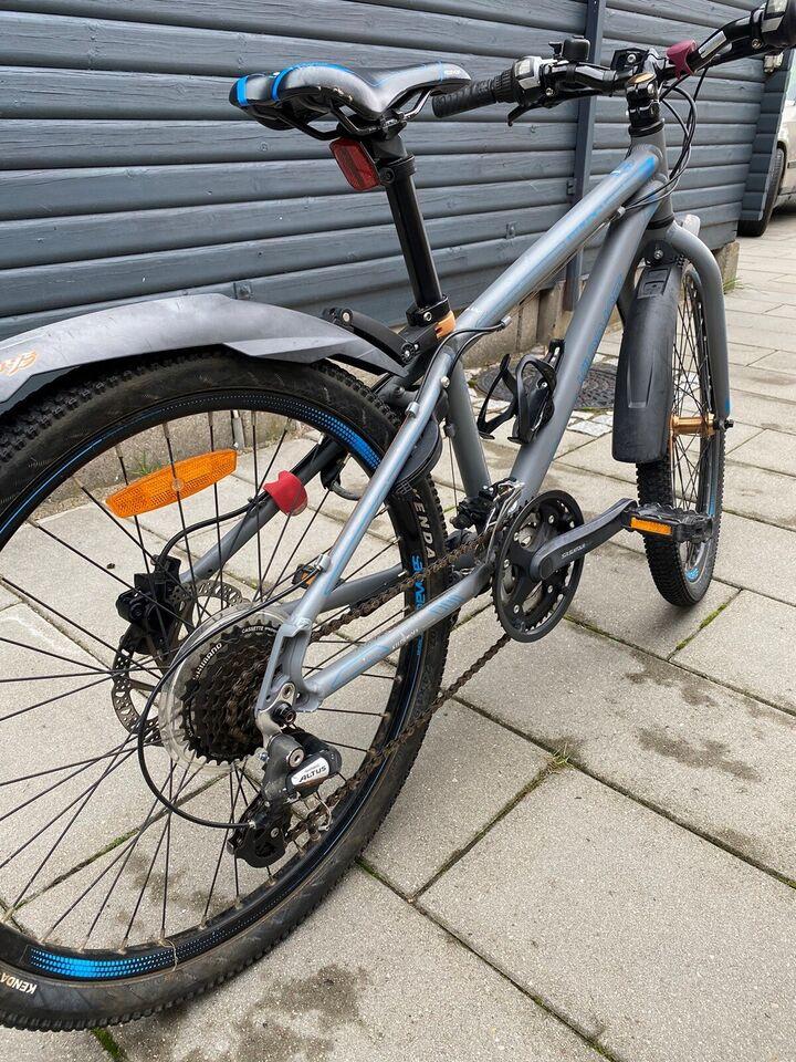 Unisex børnecykel, mountainbike, Kildemoes