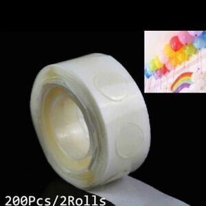 2-Rolls-glue-special-dot-double-side-adhesive-balloon-sticker-ballons-tool-XC