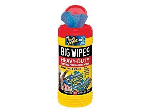 Big Wipes 4x4 Heavy-Duty Cleaning Wipes Range