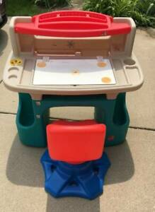 Step 2 Kids Desk With Chair Local Pick Up Only Ebay