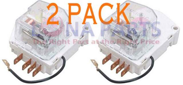 4 PACK W10822278 AP5985208 PS11723171 Supco Refrigerator Defrost Timer 8hr 20m
