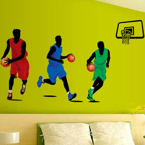 Play Basketball Gym Sports DIY Removable Wall Sticker