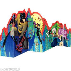 Image Is Loading THE BATMAN CENTERPIECE Birthday Party Supplies Decorations Joker
