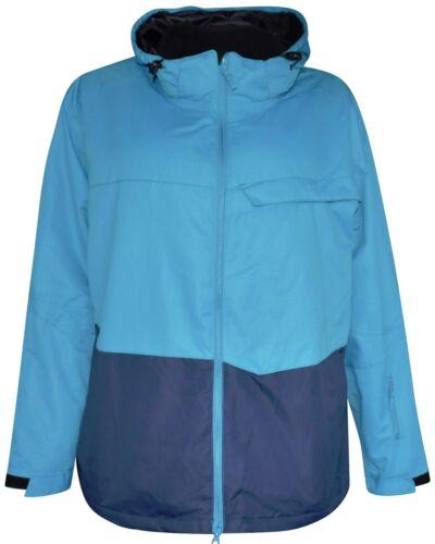 New Pulse Mens Big Sizes 3in1 Ski Jacket Coat 3XL 4XL 5XL Navy Altitude 1143