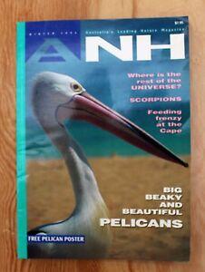 ANH-Magazine-Winter-1994-No-Poster-Pelicans-Scorpions-Cape-Cuvier-Universe
