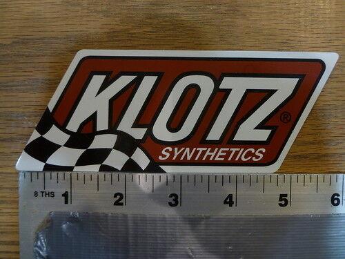 Klotz Synthetics Sticker Decal