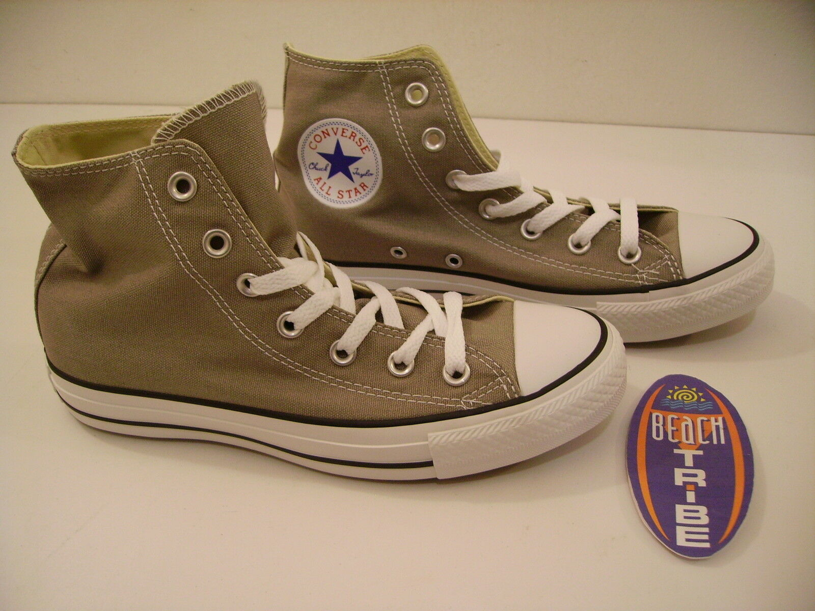 CONVERSE SCHUHE UNISEX SNICKERS HOCH 142368C ALL STAR OLD SILBER GRAU 42