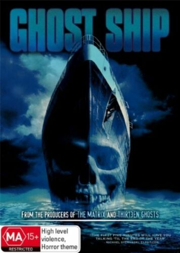 1 of 1 - Ghost Ship - DVD LIKE NEW FREE POSTAGE AUSTRALIA REGION 4