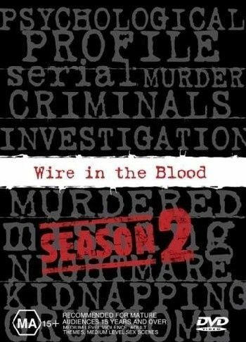 1 of 1 - Wire In The Blood : Series 2 (DVD, 2004, 4-Disc Set)