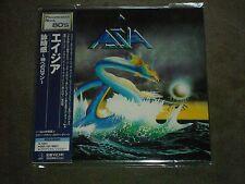 Asia S/T Japan Mini LP Carl Palmer Steve Howe Geoffrey Downes John Wetton