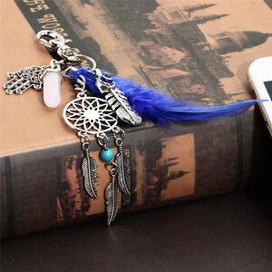 Dream-Catcher-Keyring-Charm-Pendant-Purse-Bag-Key-Ring-Chain-Car-Keychain
