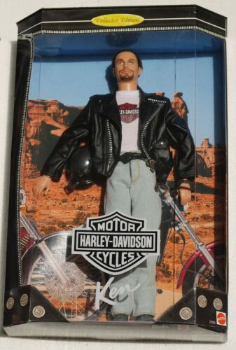 1998 HarleyDavidson Ken Doll #1 NEW IN BOX