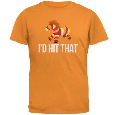 Cinco de Mayo Mexico Pinata Drink Party Candy LS Mens T-Shirt I/'d Hit That