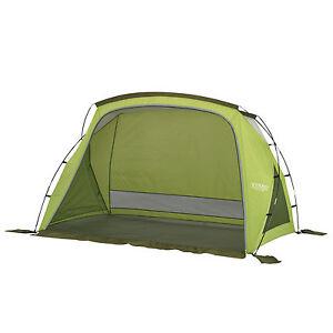 Wenzel-Grotto-Portable-Outdoor-Beach-Camping-Cabana-Sun-Shade-Shelter-Green