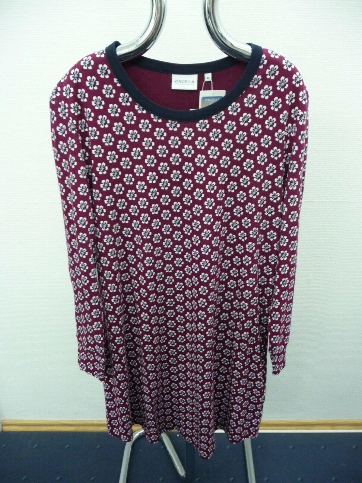 Damen Nachthemd Ringella Art. 0511028 Fb. 327 Beere gemustert Neu!