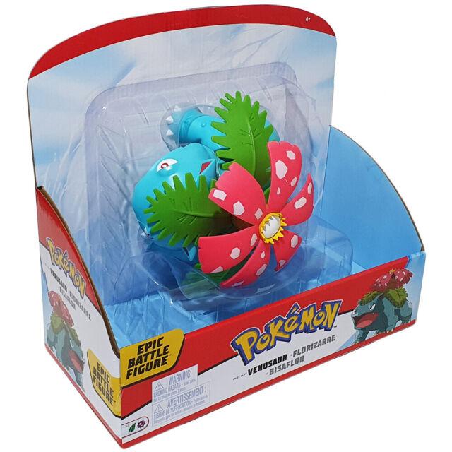 "Pokémon 12/"" Epic Battle Figure Venusaur Figure Toy Gift fast shipping"