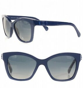 fd60d171a879b Image is loading CHANEL-SUNGLASSES-NAVY-BLUE-LE-BOY-LEGO-5315-