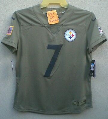 sale retailer 22634 9ffc4 Nike Ben Roethlisberger Womens Salute To Service Pittsburgh Steelers Jersey  $160 | eBay