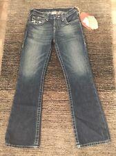 True Religion Jeans Boys Billy Gr.8 (ca. 140) Ledereinsätze/ Neu! Preis 195€