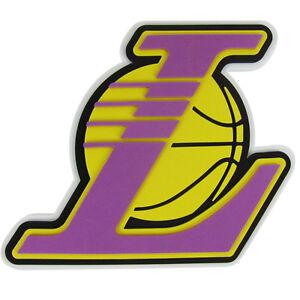 New Nba La Los Angeles Lakers 3d Fan Foam Logo Holding Wall Sign Made In Usa 847624020898 Ebay