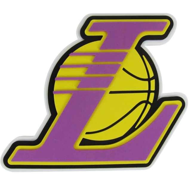 Los angeles lakers nba 3d foam logo wall sign ebay new nba la los angeles lakers 3d fan foam logo holding wall sign made in usa voltagebd Image collections