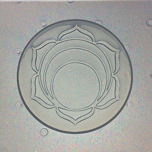 Flexible Resin Or Chocolate Mold Sacral Sacrum Second Svadhisthana Lotus Chakra