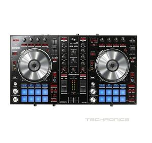 pioneer ddj sr 2 channel serato digital dj controller professional board mixer ebay. Black Bedroom Furniture Sets. Home Design Ideas