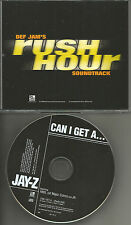 JAY Z w/ AMIL Can I get a w/ RARE RADIO EDIT PROMO radio DJ CD single 1998 USA