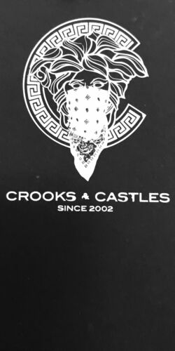 """CROOKS /& CASTLES Knit Embroidered """"Skull Bunny"""" hoodies available"""