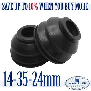 2-X-Universal-High-Quality-Rubber-14-35-24-Tie-Rod-End-and-Ball-Joint-Dust-Boots