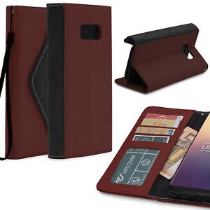 Urcover-Samsung-Galaxy-s8-housse-de-protection-cartes-amp-Argent-Poche-Case-Cover-etui