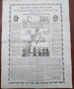 1900-MANIFESTO-PADRE-FRANCESCO-DA-ORTA-CONTRO-BARBARI-MUSULMANI-A-GERUSALEMME