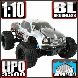 Redcat Racing Volcano EPX Pro 1:10 Electric Brushless Monster RC Truck (Silver)