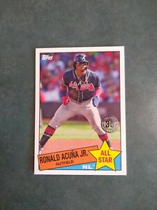 2020 Topps Series 2 85 All Star Ronald Acuna Jr