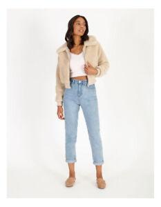 Miss Shop Teddy Bomber Jacket