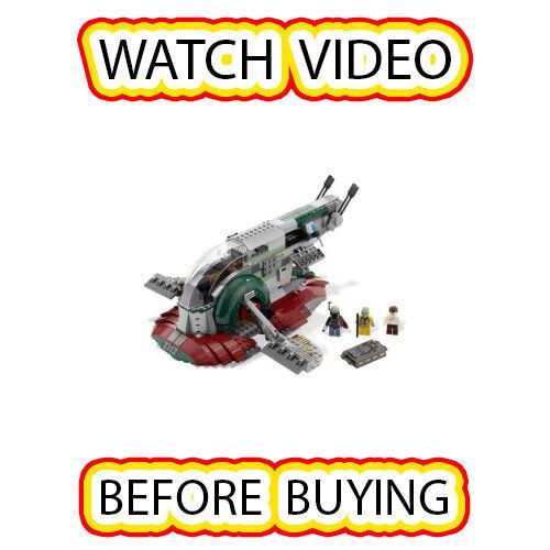 Lego Esclavo I (3rd edición) Set [itm5] 8097 Guerra De Las Galaxias Estrella Wars episodio 4 5 6